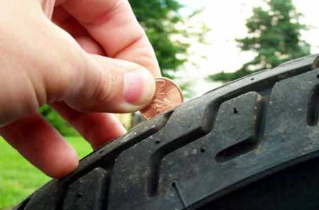Always Remove A Tire From Service Once The Wear Reaches Tread Indicator Bars Indicating 1 32 Of An Inch Depth Located In Grooves