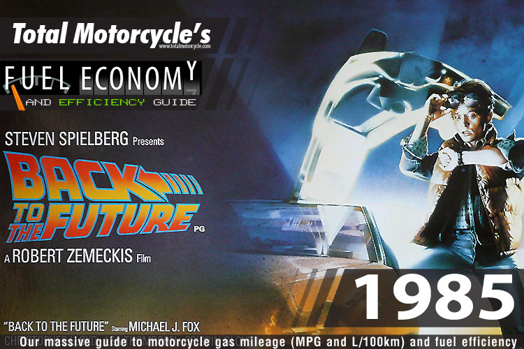 1985 Motorcycle MPG Fuel Economy Guide