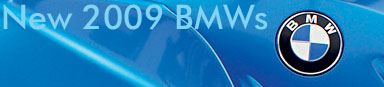 5 new 2009 BMW Motorcycle Models