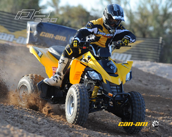 2009 Can-Am DS 250