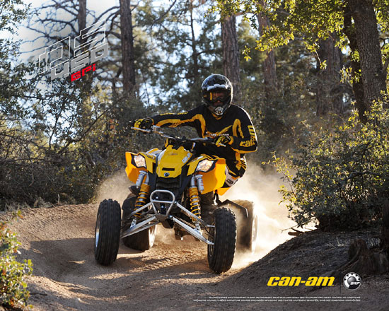 2009 Can-Am DS 450 EFI