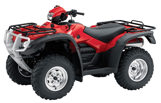 2009 Honda FourTrax Foreman Rubicon GPScape with EPS TRX500FPA