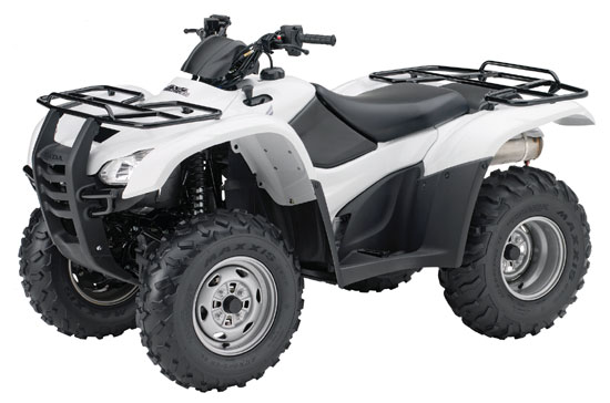 2009 Honda FourTrax Rancher 4X4 ES with Power Steering TRX420FPE