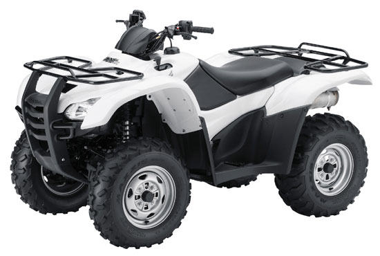 2009 Honda FourTrax Rancher AT with Power Steering TRX420FPA