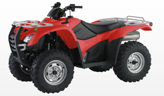 2009 Honda TRX420FG Canadian Trail Edition