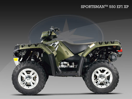 2009 Polaris SportsmanXP 550 EFI
