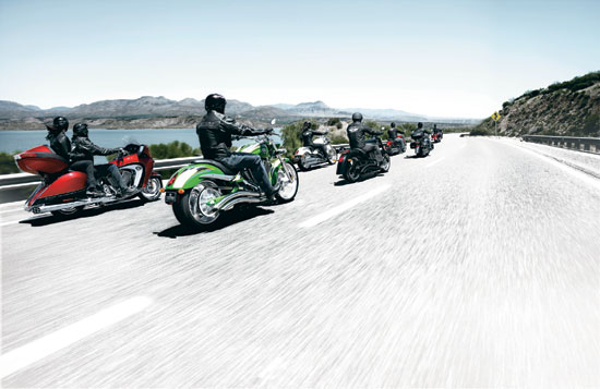 2009 Victory Motorcycle Model Line-up