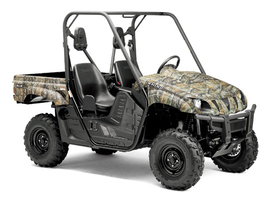 2009 Yamaha Rhino 700 FI 4x4 Camo Ducks Unlimited