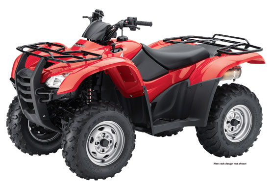 2010 Honda FourTrax Rancher AT with Power Steering TRX420FPA