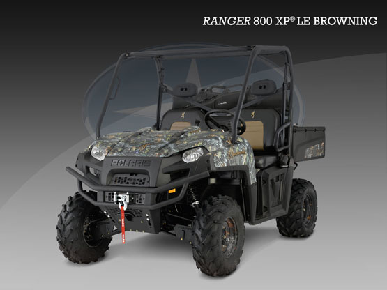 2010 Polaris Ranger 800 XP Browning LE