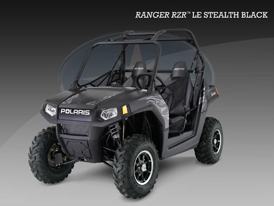 2010 Polaris Ranger RZR Stealth Black