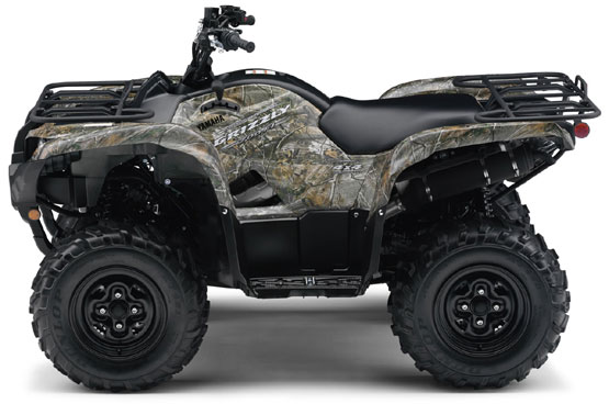 2010 Yamaha Grizzly 700 FI EPS Camo AP HD