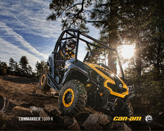 2011 Can-Am Commander 1000X