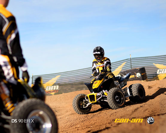 2011 Can-Am DS 90 X