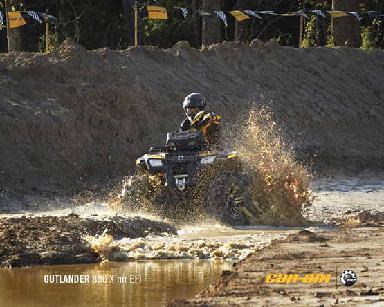 2011 Can-Am Outlander 650
