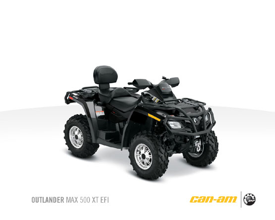 2011 Can-Am Outlander Max 500 XT