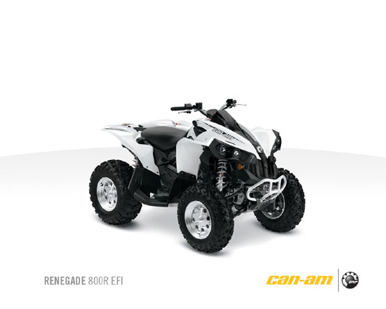 2011 Can-Am Renegade 800R