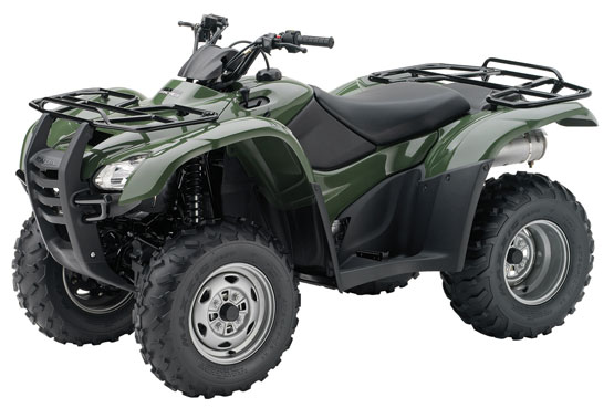2011 Honda FourTrax Rancher 4x4 ES with Power Steering TRX420FPE