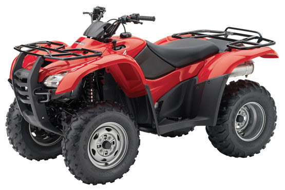 2011 Honda FourTrax Rancher with Power Steering 4X4 TRX420FPM