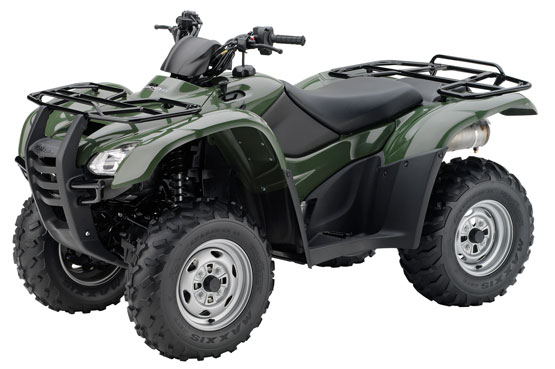 2011 Honda FourTrax Rancher AT with Power Steering TRX420FPA
