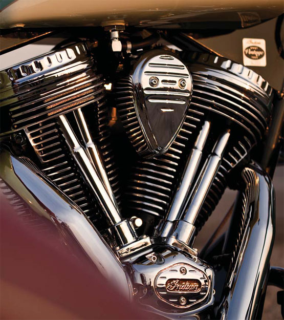 2011 Indian Chief 105 cubic inch PowerPlusTM engine with electronic fuel injection