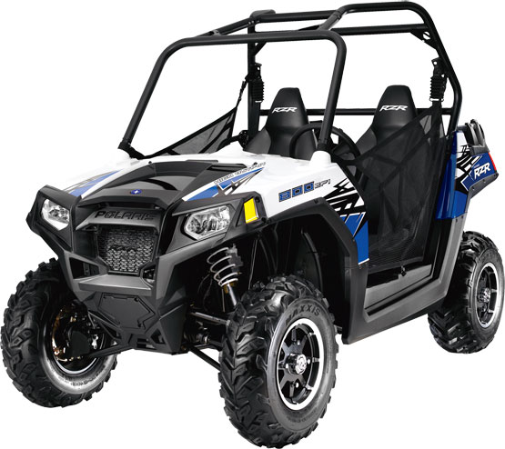 2011 Polaris Ranger RZR 800 Boardwalk Blue/White LE