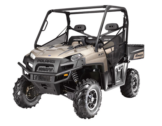 2011 Polaris Ranger XP 800 EPS Sandstone Metallic LE