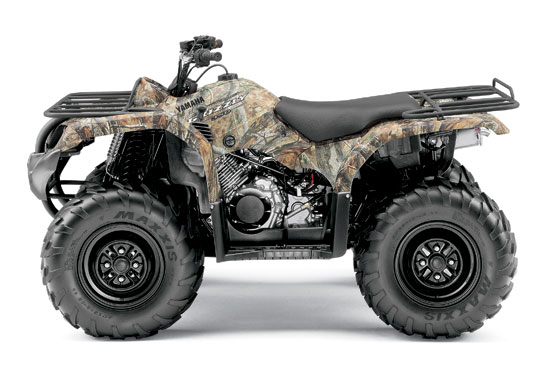 2011 Yamaha Grizzly 350 4x4 IRS