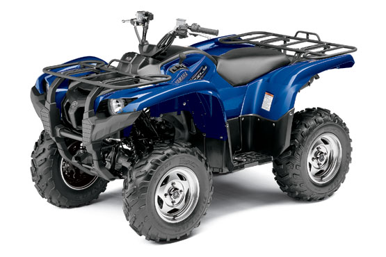 2011 Yamaha Grizzly 550 FI 4x4 EPS