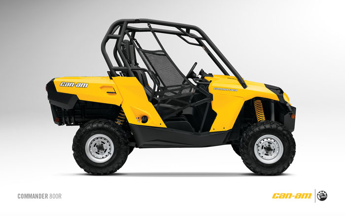 2012 Can-Am Commander 800R
