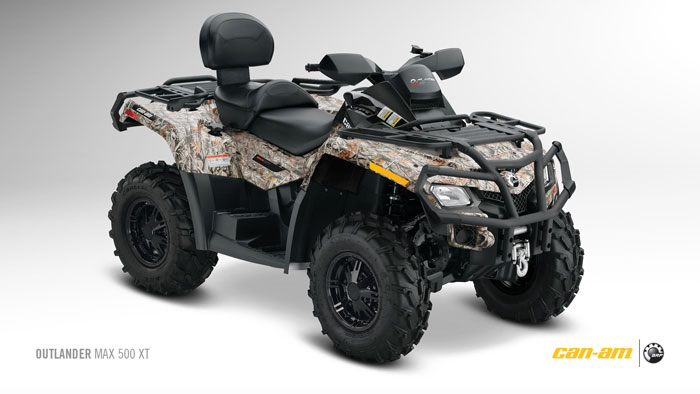 2012 Can-Am Outlander MAX 500 XT