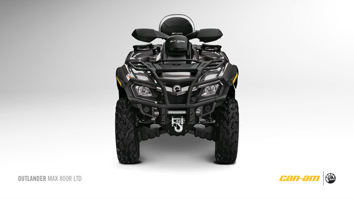 2012 Can-Am Outlander MAX 800R Limited