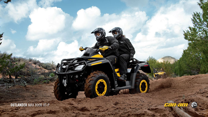 2012 Can-Am Outlander MAX 800R XT-P