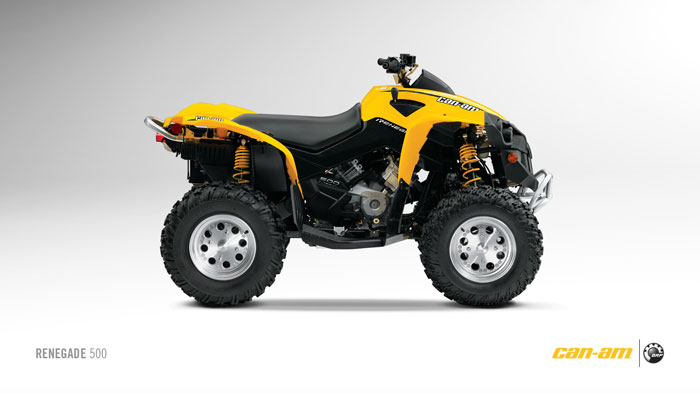 2012 Can-Am Outlander Renegade 500