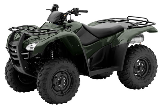 2012 Honda FourTrax Rancher AT TRX420FA