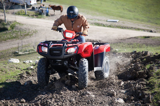 2012 Honda FourTrax Foreman 4x4 with Electric Power Steering TRX500FPM