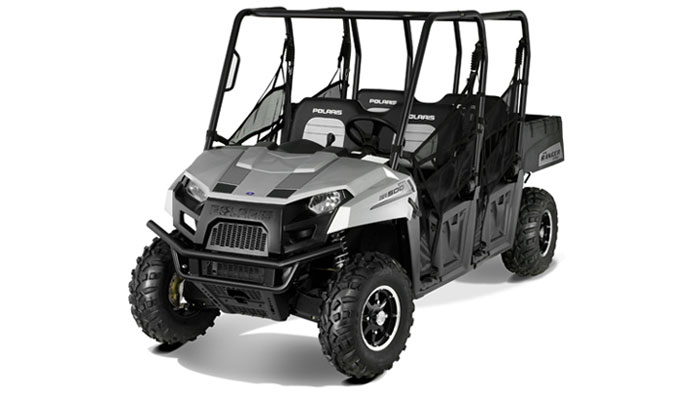2012 Polaris Ranger Crew 500 Turbo Silver LE