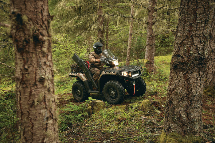 2012 Polaris Sportsman XP 850 HO EPS Browning LE