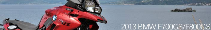 New 2013 BMW F700GS and F800GS - The ultimate all-rounders