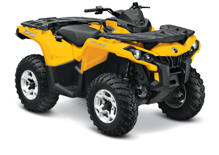 2013 Can-Am Outlander DPS 1000