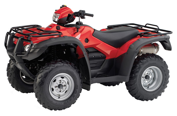 2013 Honda FourTrax Foreman Rubicon with Electric Power Steering TRX500FPA