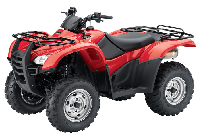 2013 Honda FourTrax Rancher AT with Electric Power Steering TRX420FPA
