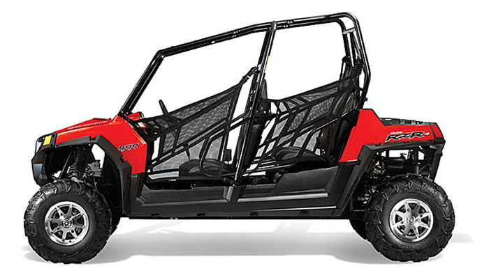 2013 Polaris RZR4 800 Indy Red