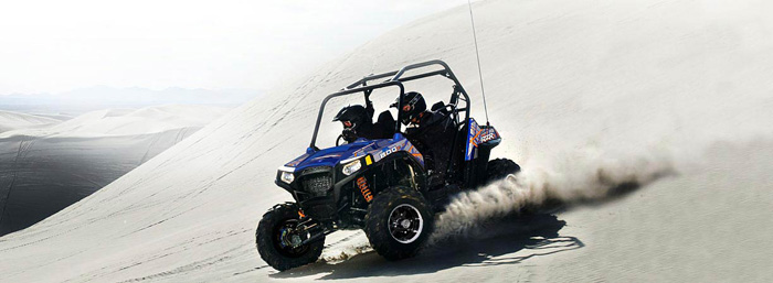 2013 Polaris RZRS 800 Blue Fire / Orange LE