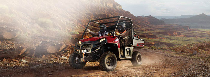 2013 Polaris Ranger 800HO EFI Sunset Red LE