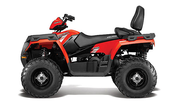 2013 Polaris Sportsman Touring 500 HO Indy Red