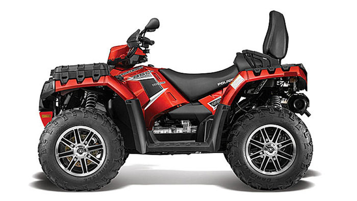 2013 Polaris Sportsman Touring 850 HO EPS Sunset Red LE