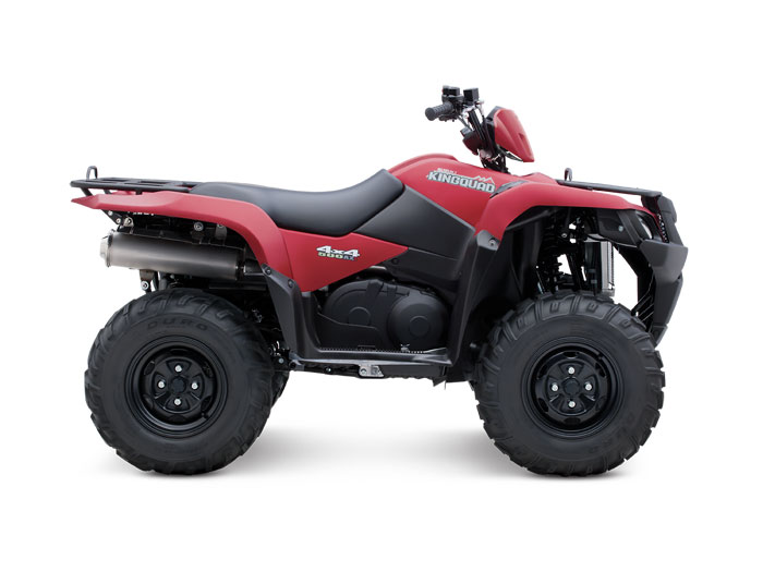 2013 Suzuki KingQuad 500AXi Power Steering 30th Anniversary Edition
