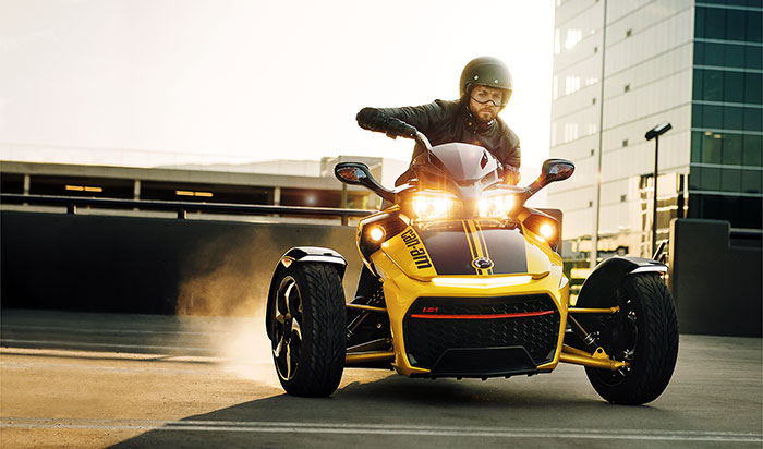 2018 Can Am Spyder Rumors >> 2017 Can-Am Motorcycle Models at Total Motorcycle