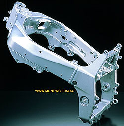 GSX-R Frame - That just looks TOO LIght!